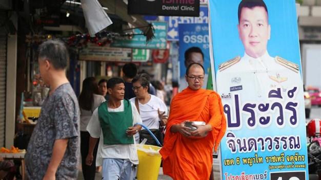 Tailandia celebra primera elección tras golpe del 2014