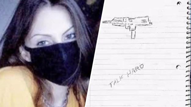 "Revelan supuesto diario de joven que estaba ""obsesionada"" con matanza"