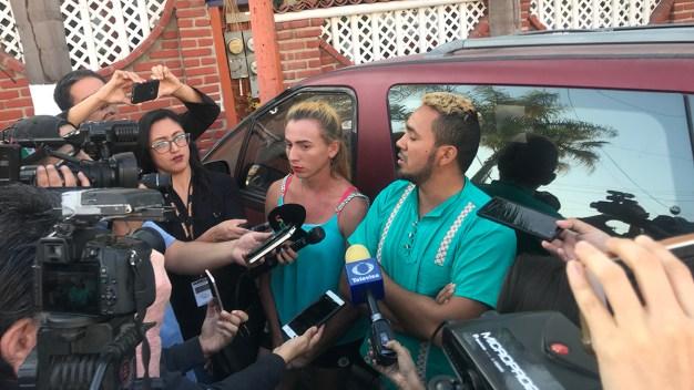 Primer contingente de la caravana llega a Tijuana