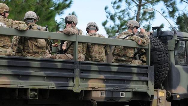 Patrulla Fronteriza explica rol de las tropas en la frontera