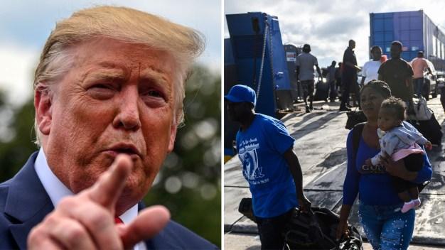 """Trump teme que llegue """"gente muy mala"""" de Bahamas"""