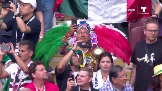 Retumba el Himno de México en toda Rusia