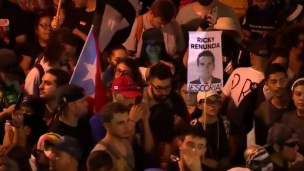 Continúa el caos y las protestas en Puerto Rico