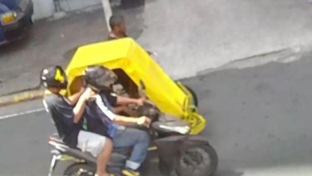 En video: le disparan a quemarropa desde una moto