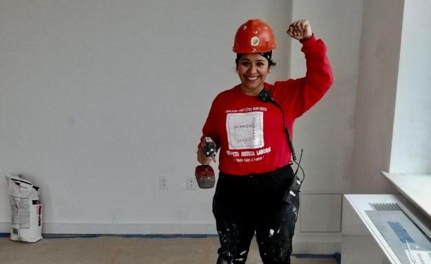 Mujeres que buscan igualdad en la industria de la construcción
