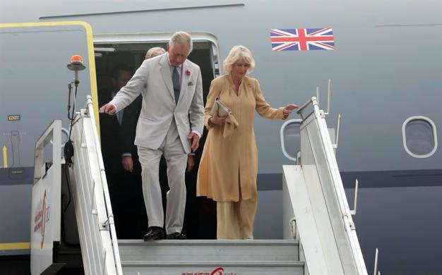 Este domingo empieza visita del príncipe Carlos y su esposa Camila a Cuba