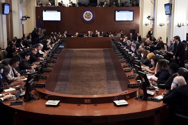 """OEA: 26 países piden elecciones """"urgentes"""" en Bolivia"""