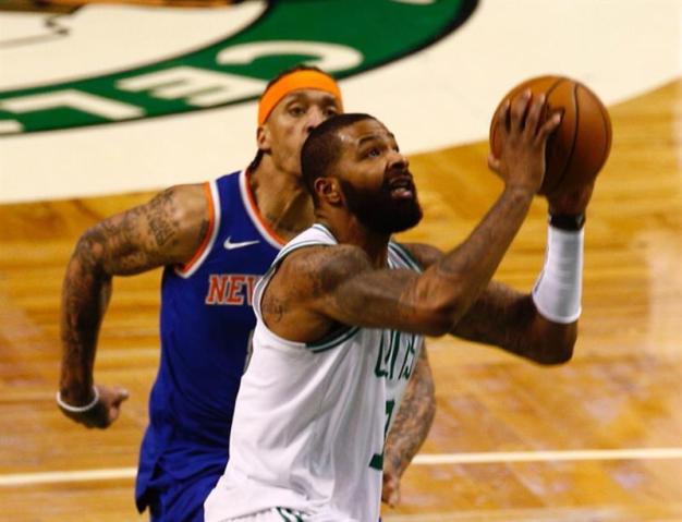 Morris sella la victoria de los Celtics contra los Thunder