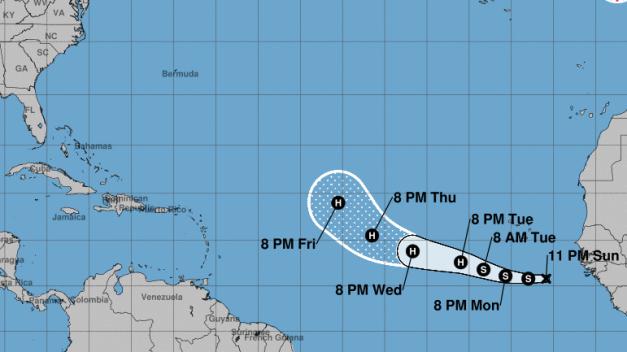 Se forma nueva depresión tropical, la 13º de la temporada
