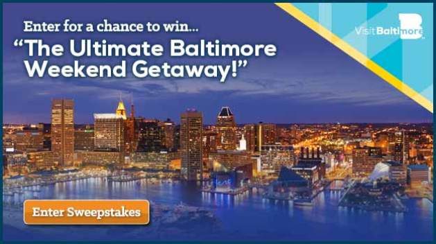 The Ultimate Baltimore Weekend Giveaway