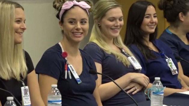 16 bellas enfermeras embarazadas al mismo tiempo: ¿Cómo pasó?