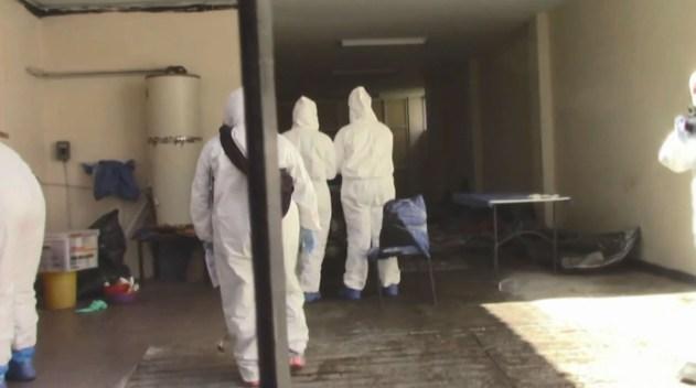 Morgues móviles: son 300 los cadáveres en tráileres