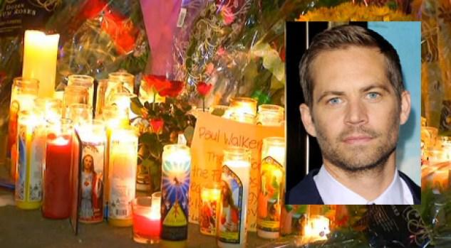 Video: Velas y llanto donde murió Paul Walker