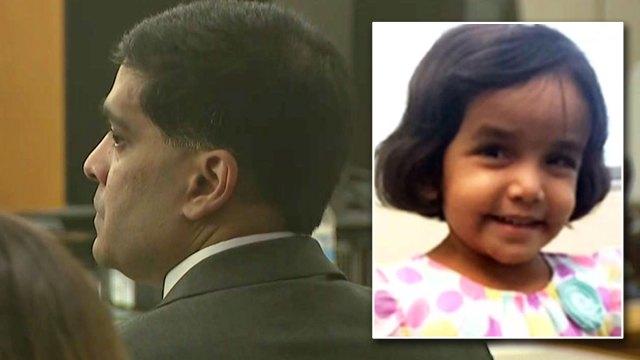 Padre de Sherin Mathews admite cargo y negocia acuerdo