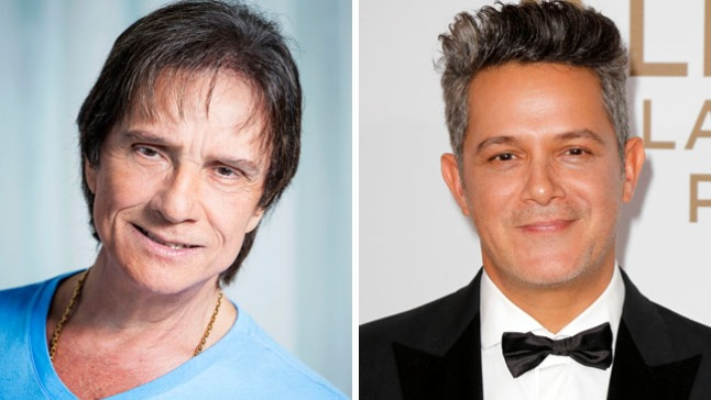 Roberto Carlos presenta dueto con Alejandro Sanz