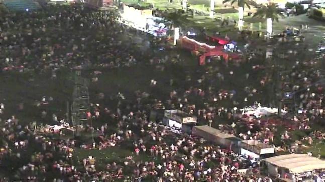 Audio y video: pánico y terror tras masacre en Las Vegas