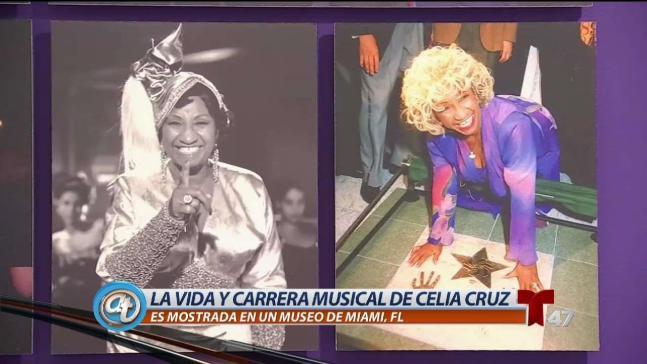 Crean exposición en homenaje a la gran Celia Cruz