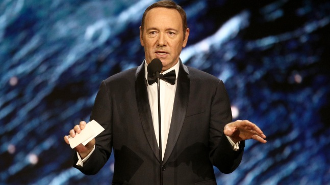 Desestiman caso por abuso sexual contra Kevin Spacey