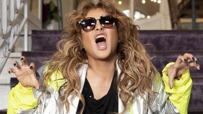 """Paulina: """"Me siento más cómoda cantando que hablando"""""""