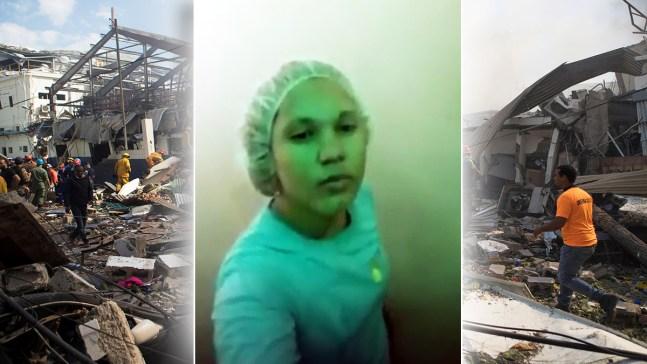"""Esto va a explotar"": Trabajadora atrapada en Polyplas"