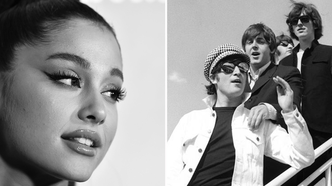 Ariana Grande iguala récord de The Beatles
