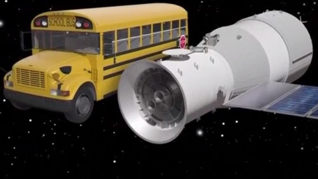 Descontrolada, nave espacial caerá sobre la Tierra
