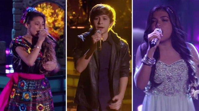 """Una gran noche en """"La Voz Kids"""", la 2da de la etapa final"""