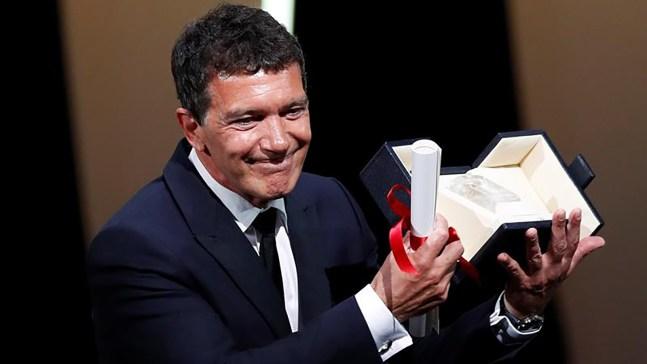 Banderas logra prestigioso reconocimiento en Cannes