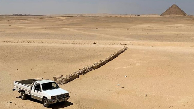 Las pirámides de Dahshur, desconocidas y enigmáticas
