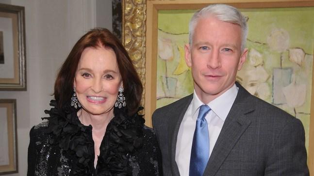 Anderson Cooper confirma muerte de su madre