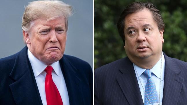 Trump y el esposo de su asesora se dicen de todo