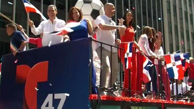 Lo mejor del Desfile Dominicano en NY