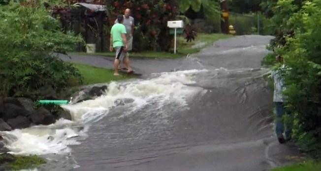 [TLMD - LV] Lluvias torrenciales y deslaves en Hawái por el huracán Lane