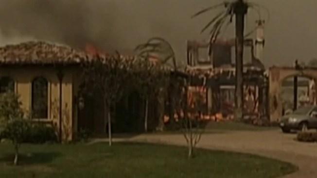Los incendios forestales más mortales en California