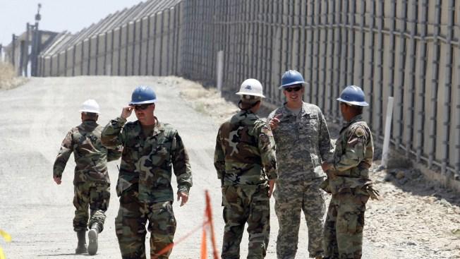 Guardia nacional comienza entrenamiento en la frontera