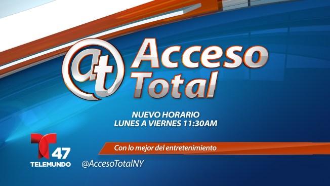 ¡Acceso Total te espera en su nuevo horario a partir del próximo lunes!