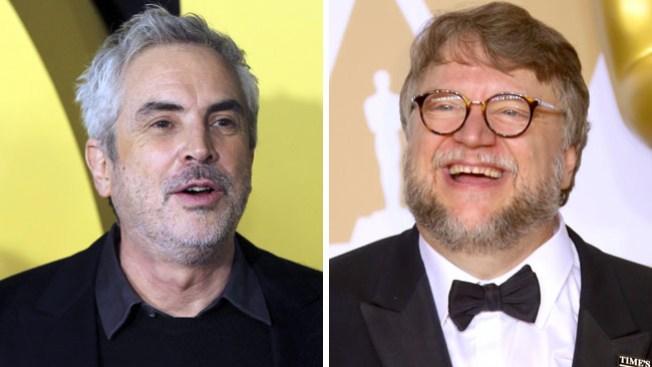 Alfonso Cuarón y Guillermo del Toro critican a los Óscar