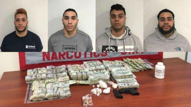 Cuatro hermanos arrestados por drogas en Providence