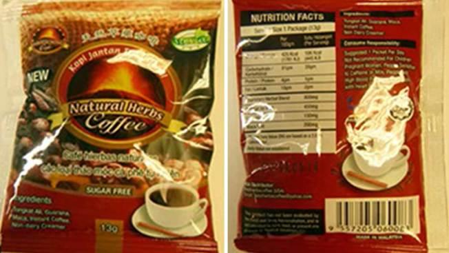 Retiran nuevo café de hierbas por ingrediente activo similar al Viagra