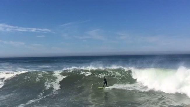 Peligro en playas de California por marea alta
