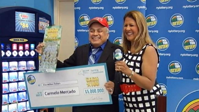 Bombero del 9/11 gana Jackpot de la Lotería
