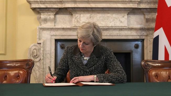 Theresa May convoca elecciones anticipadas en Reino Unido