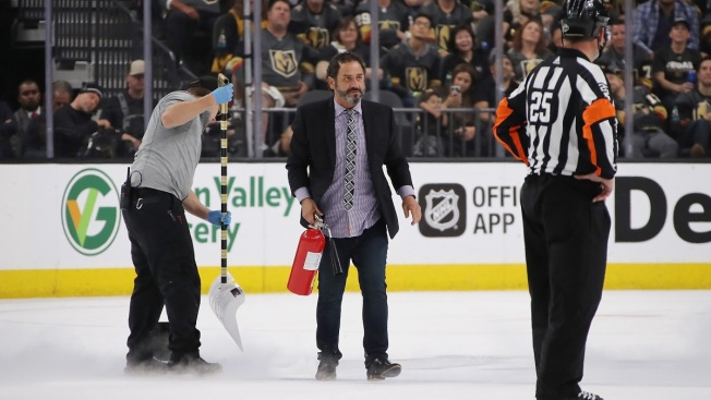 Calor de Las Vegas derrite el hielo durante finales de la NHL