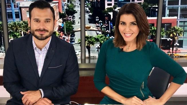 Noticiero Telemundo 20 San Diego, con  Lizzet Lopez y Guadalupe Venegas