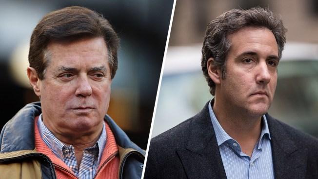 Lea los nuevos documentos en los casos de Cohen y Manafort