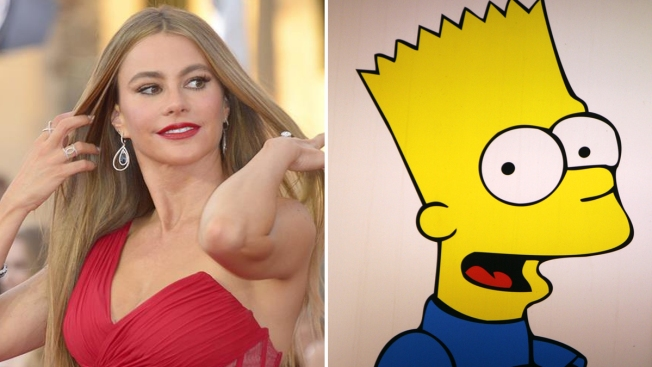 "Sofía Vergara se integra a ""The Simpsons"""