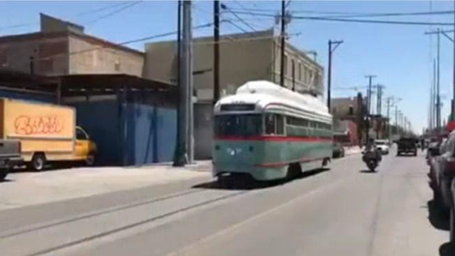 Tranvía comenzará a observarse en las calles de El Paso