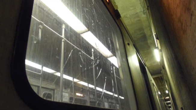 Brutal vandalismo contra bienes del MBTA