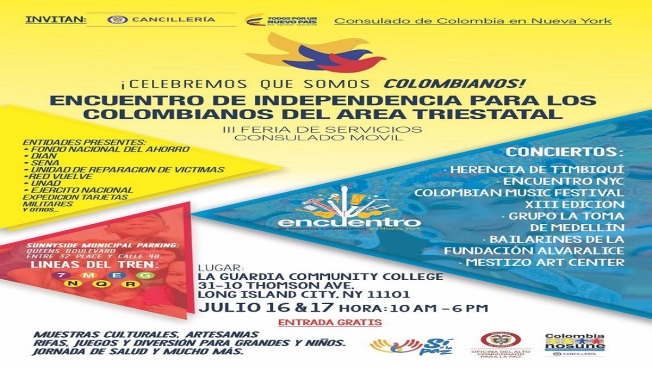 Encuentro para colombianos en el área triestatal