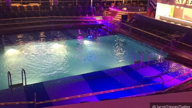 Muere el niño que cayó a la piscina de un crucero
